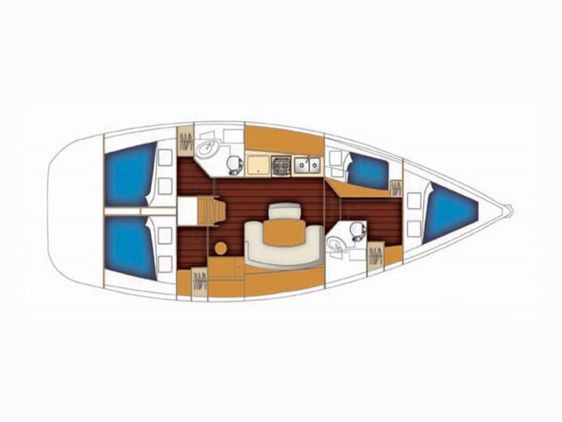 BENETEAU Oceanis 37 REFIT 2019 (PEARL)  - 2