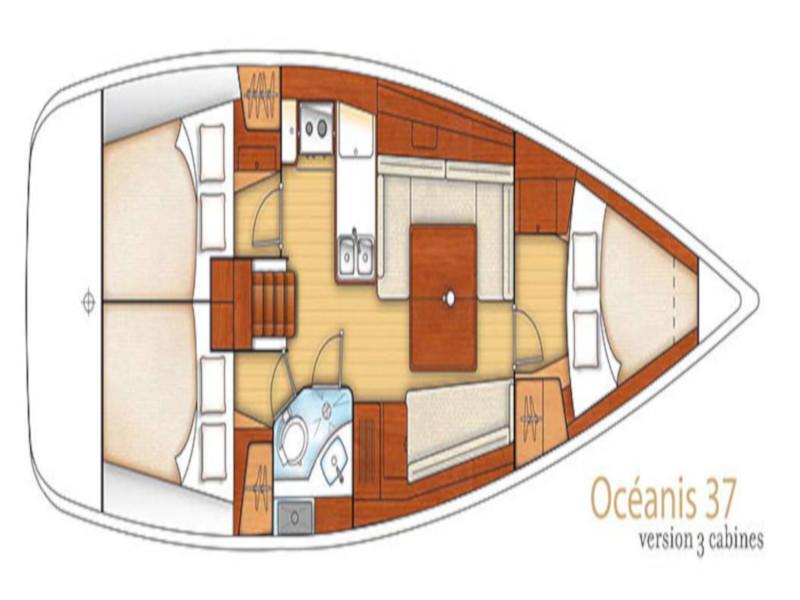 BENETEAU Oceanis 37 REFIT 2019 (PEARL)  - 15
