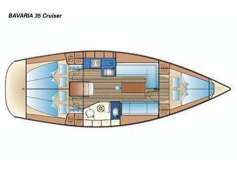 Bavaria 35 Cruiser (B35-3) Plan image - 2
