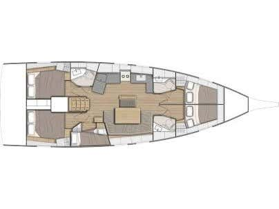 Oceanis 46.1 (Sia) Plan image - 6