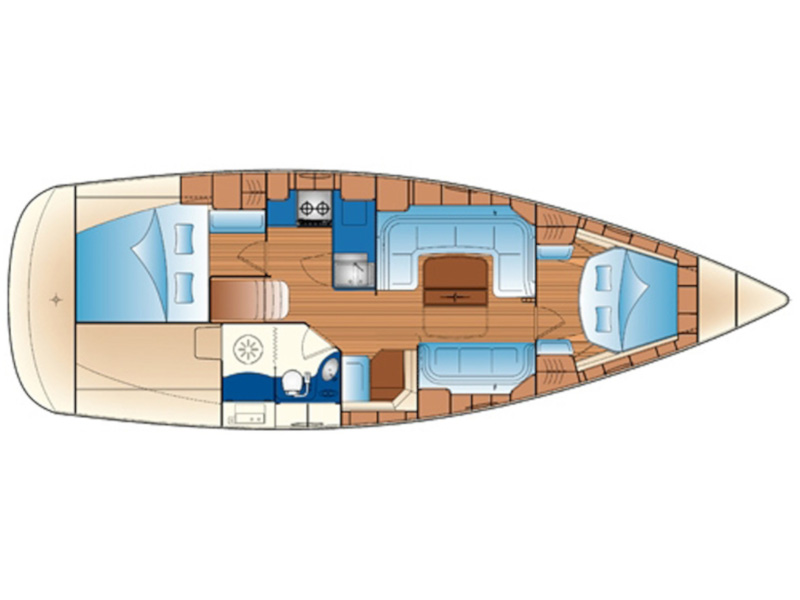 Bavaria 33 Cruiser (Arethusa) Plan image - 4