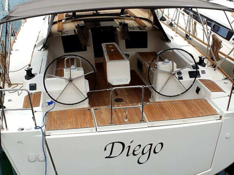Dufour 460 Grand Large Diego 2018 (Diego) Main image - 0