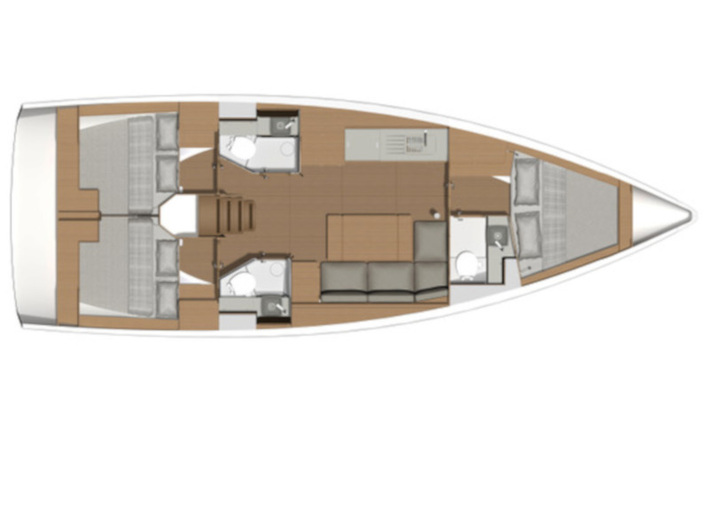 Dufour 390 Grand Large (Inycum) Plan image - 1