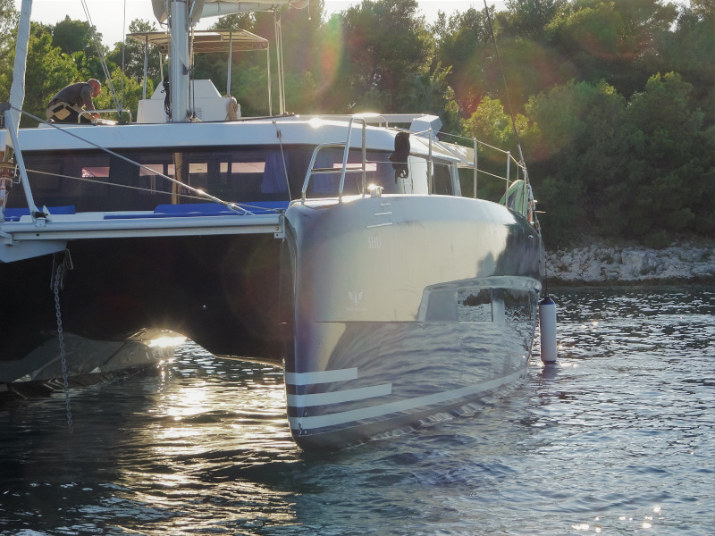 Dufour 48 Catamaran (SHU - BLUE HULL, AC+GEN., UNDERWATER LIGHTS)  - 1