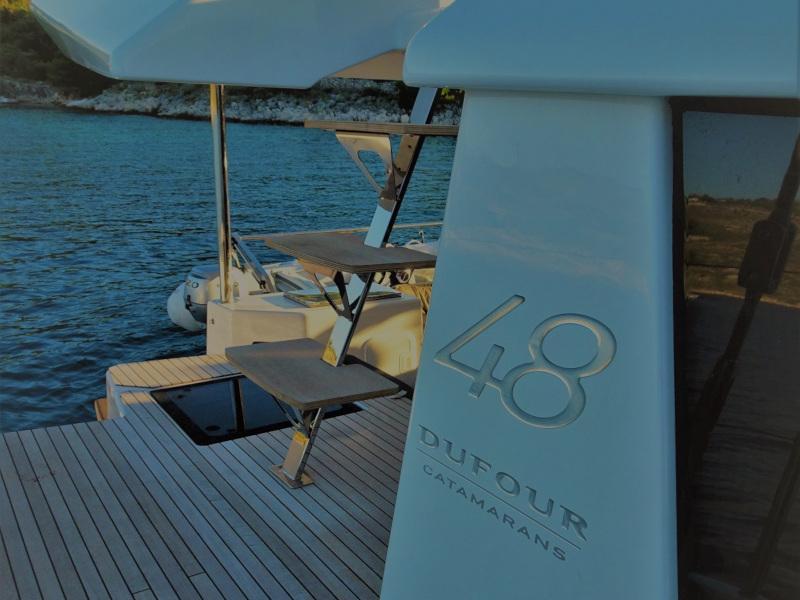 Dufour 48 Catamaran (SHU - BLUE HULL, AC+GEN., UNDERWATER LIGHTS)  - 15
