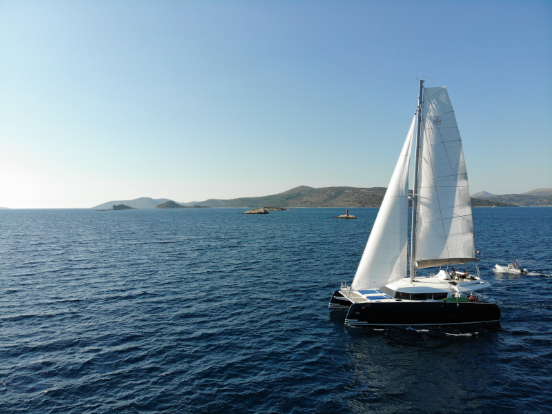 Dufour 48 Catamaran (SHU - BLUE HULL, AC+GEN., UNDERWATER LIGHTS)  - 45