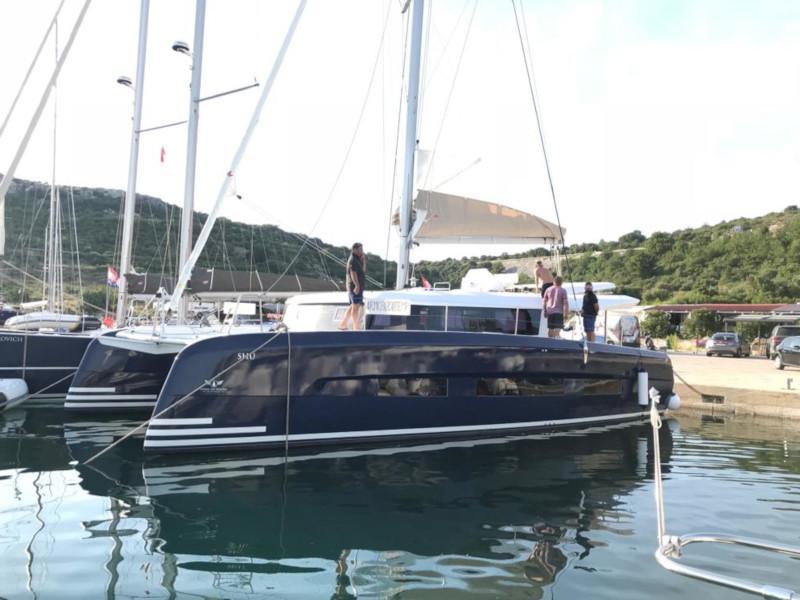 Dufour 48 Catamaran (SHU - BLUE HULL, AC+GEN., UNDERWATER LIGHTS)  - 48