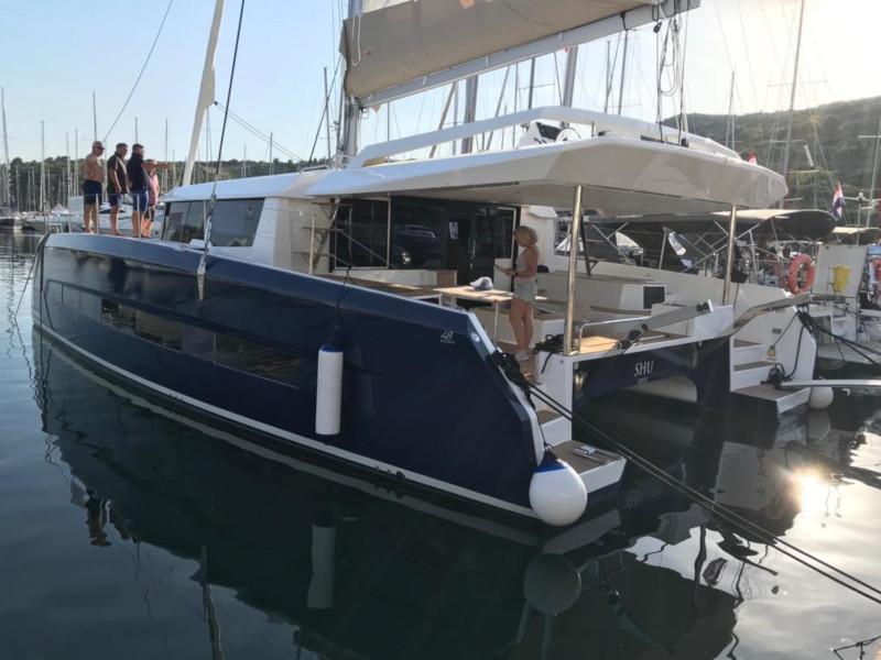 Dufour 48 Catamaran (SHU - BLUE HULL, AC+GEN., UNDERWATER LIGHTS)  - 2