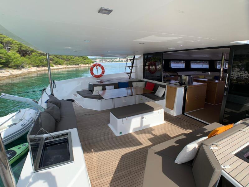 Dufour 48 Catamaran (YAM - BLUE HULL, AC+GEN., UNDERWATER LIGHTS)  - 38