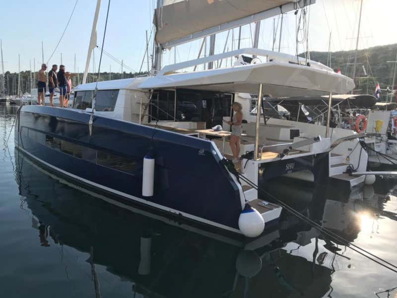 Dufour 48 Catamaran (YAM - BLUE HULL, AC+GEN., UNDERWATER LIGHTS)  - 18