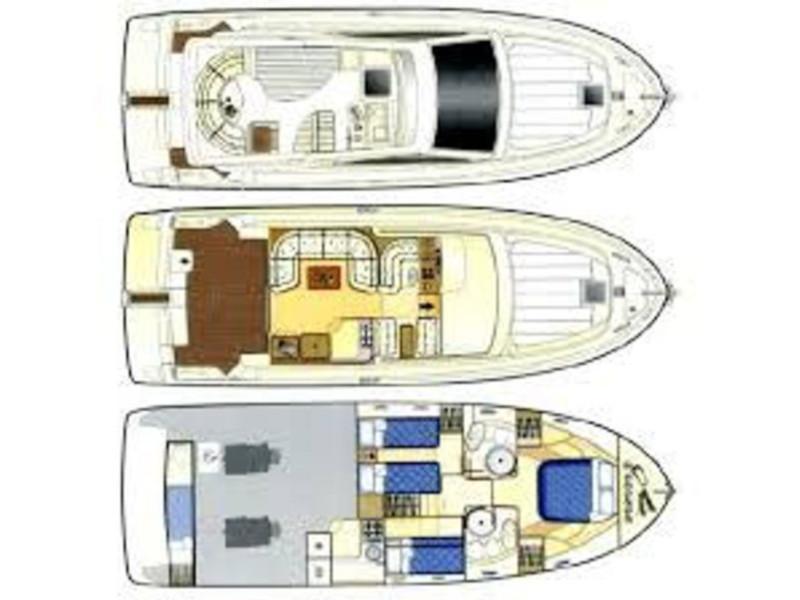 Ferretti 460 (Summertime) Plan image - 1