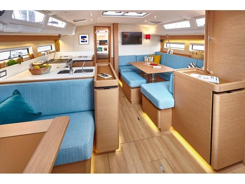 Sun Odyssey 490 6 cabins (ath49016) Interior image - 1