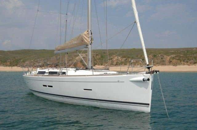 Dufour 450 GL (Dans) At Anchor - 41