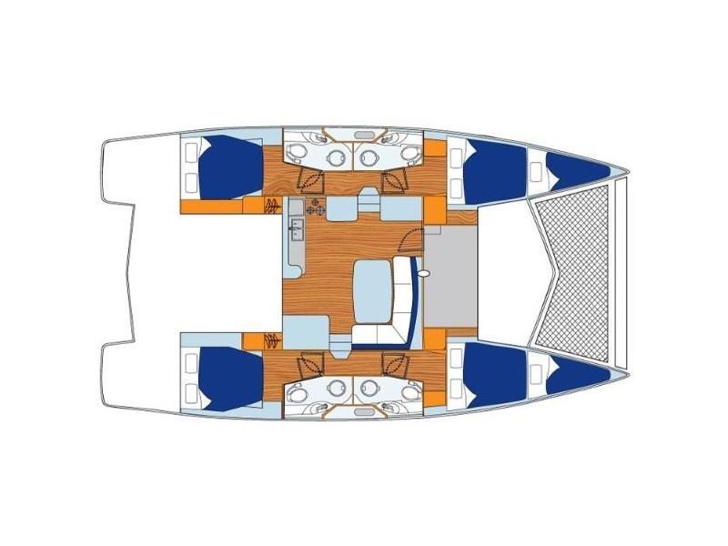 Leopard 44 (What Else) Plan image - 1