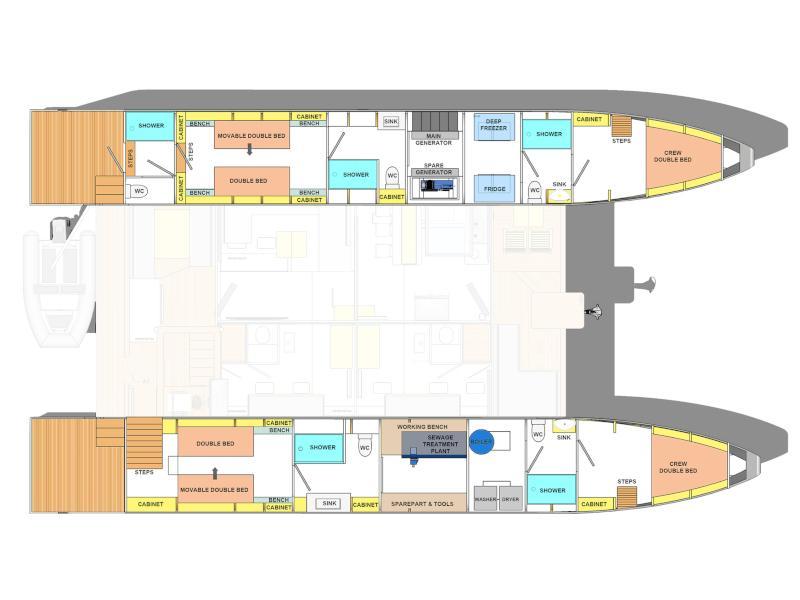 Ocean Beast 65 (Irina Full Charter (8 Pax)) Plan image - 7