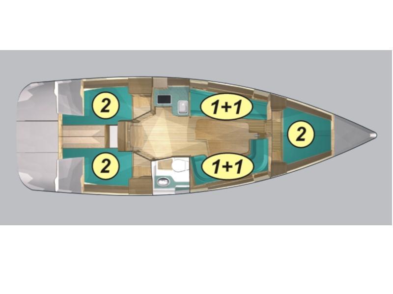 Maxus 33.1 RS Standard (GEMINI) Plan image - 2