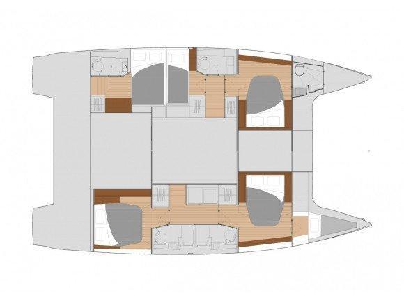 Saona 47 quintet (DESAFINADO - AC and generator) Interior image - 39
