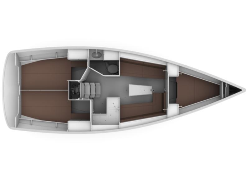 Bavaria 34 Cruiser (Free Spirit) Plan image - 15