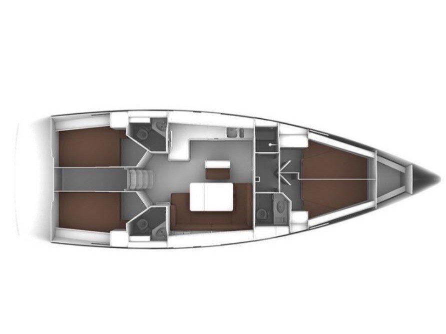 Bavaria Cruiser 46 (Gracia) Plan image - 17