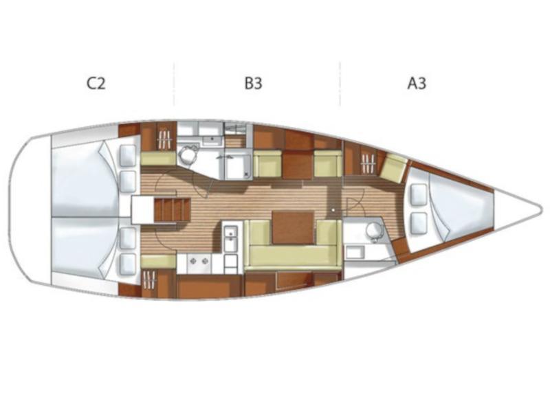 Hanse 400 (Freddo) Plan image - 11