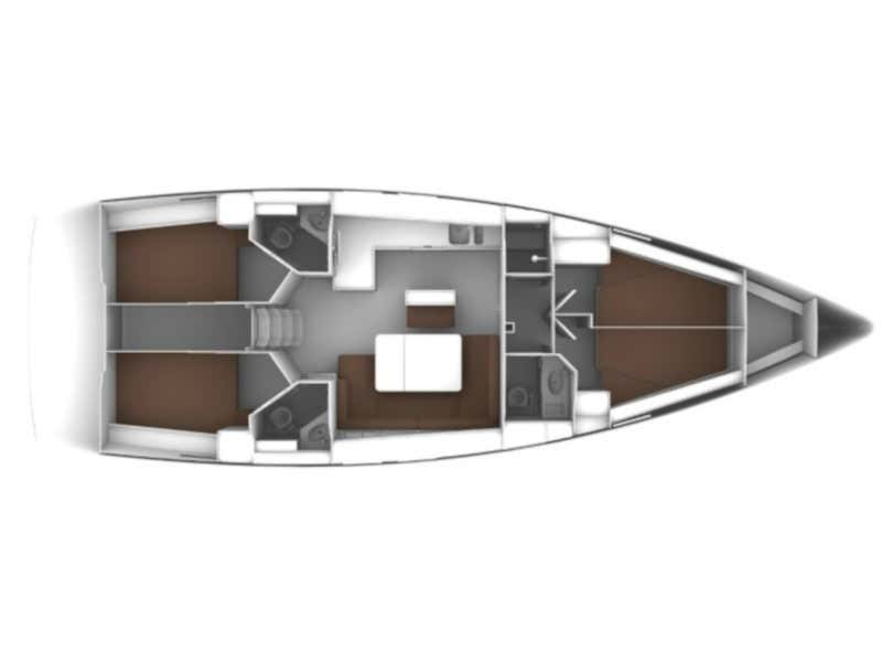 Bavaria Cruiser 46 (AELIA) Plan image - 5