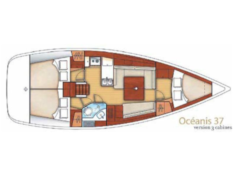 Oceanis 37 (JULIE) Plan image - 8