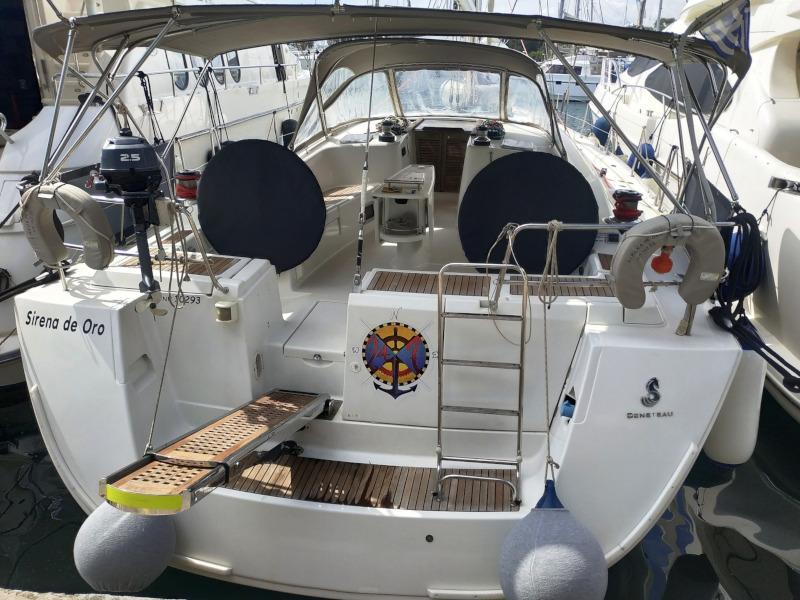 Oceanis 54 (SIRENA De ORO (air condition, generator))  - 17