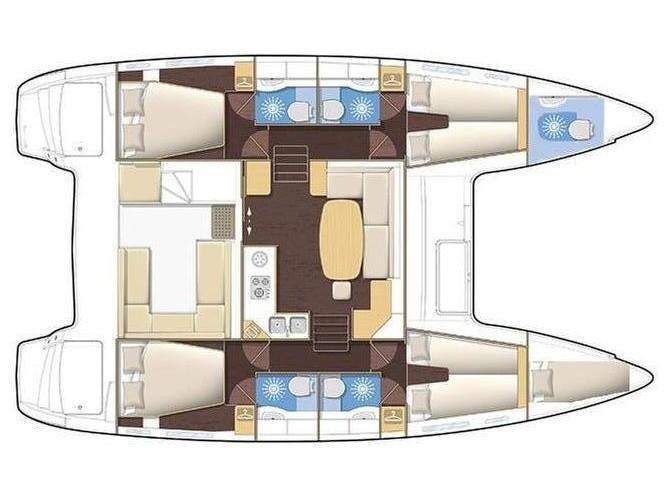 Lagoon 400 (No name) Plan image - 1