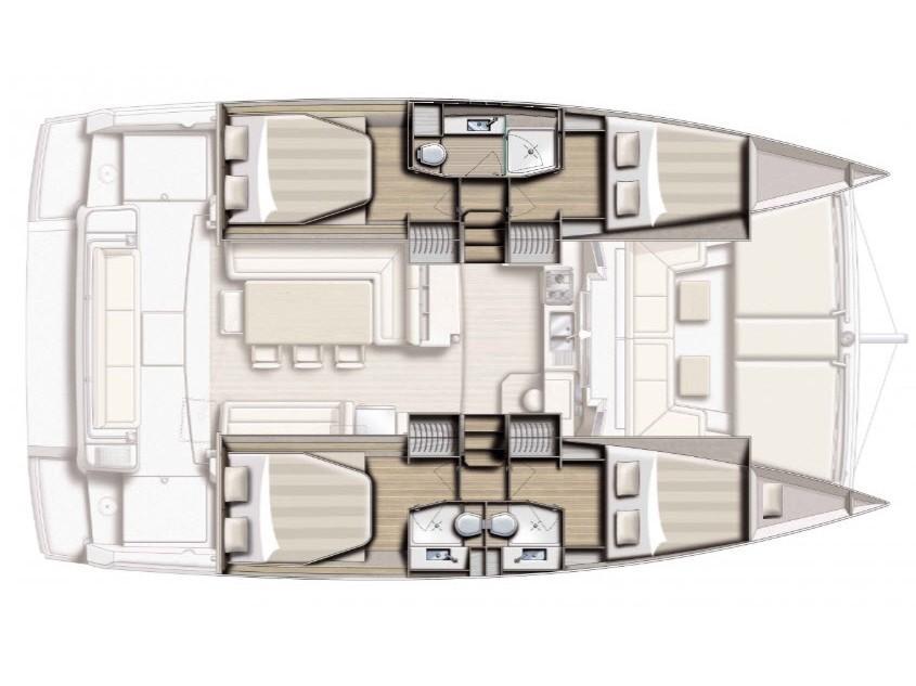 Bali 4.1 Maxi Lounge (Grampis) Plan image - 4