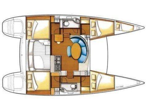 Lagoon 380 s2 (No name) Plan image - 2