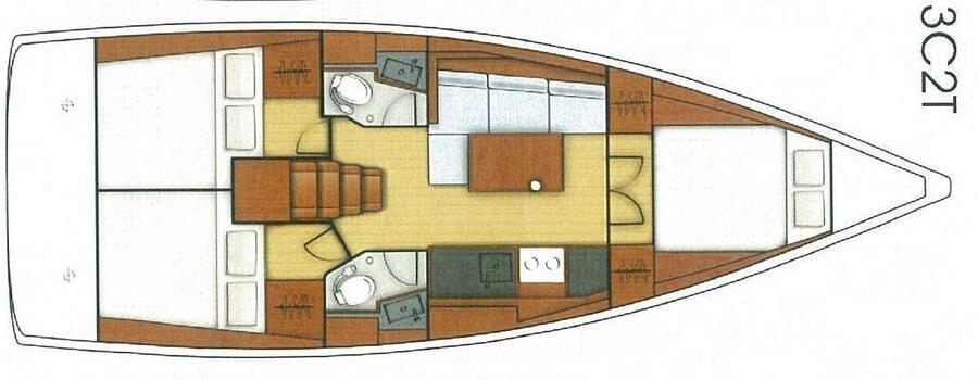 Oceanis 38.1 (SIRINA)  - 5