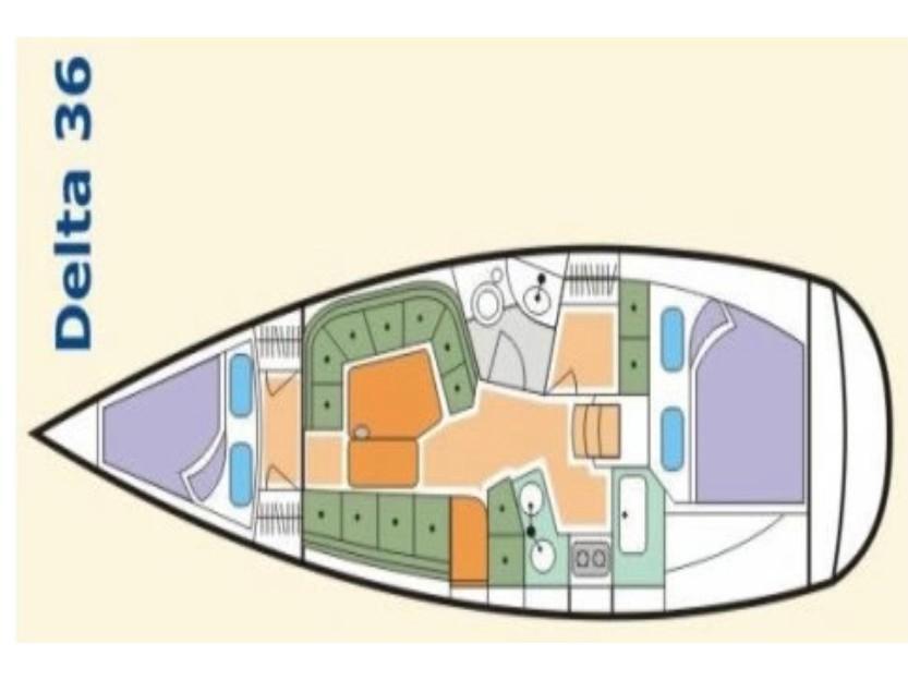 Delta 36 (Lafitte) Plan image - 2