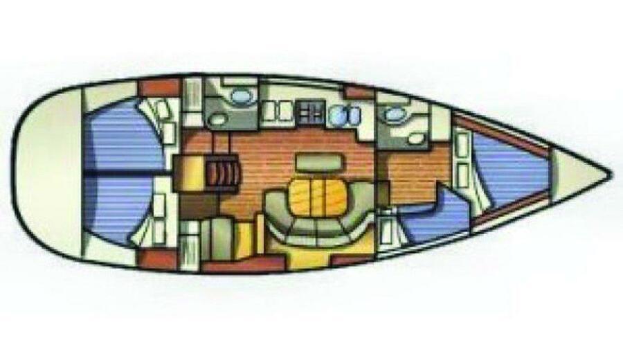 Oceanis 411 (IOS)  - 1