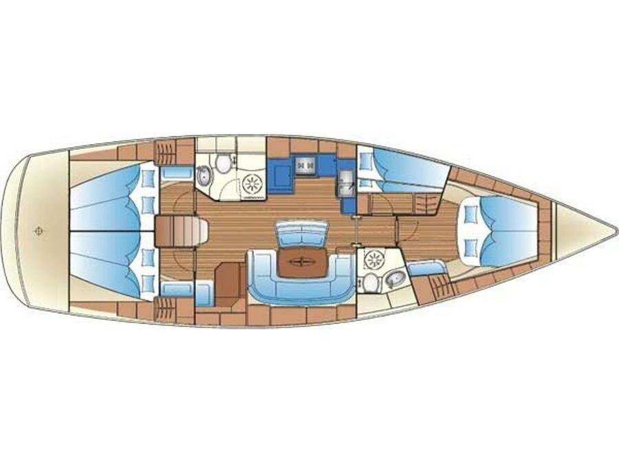 Bavaria 46 Cruiser (Enalia (Refit 2019)) Interior image - 15
