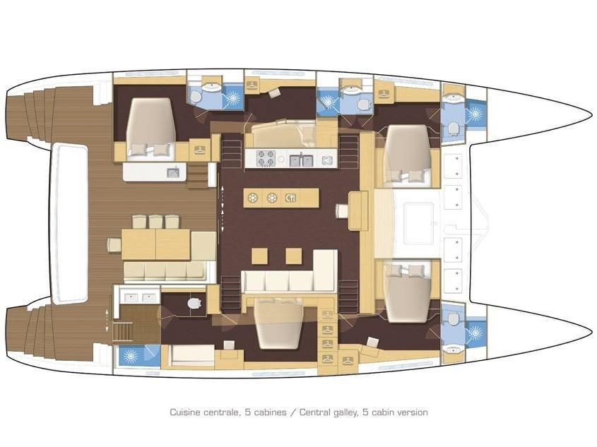 Lagoon 620 (TWIN) Plan image - 1