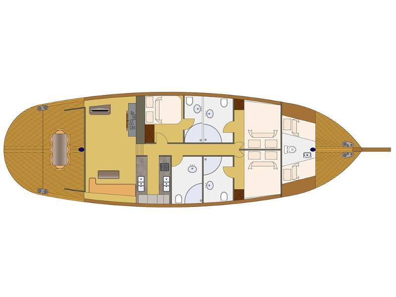 Gulet Karia (Karia) Plan image - 31