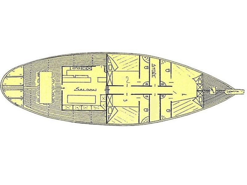 Gulet Remo (Remo) Plan image - 19