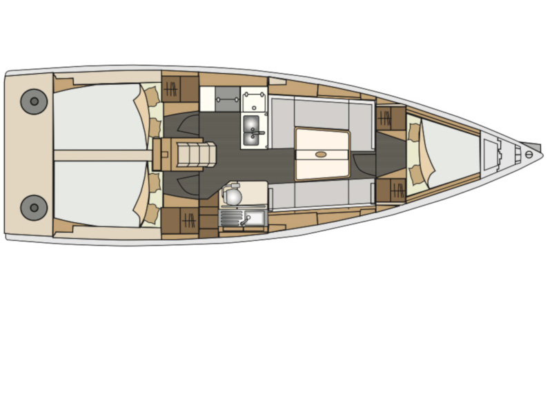 Elan 350 (Yankee) Plan image - 5