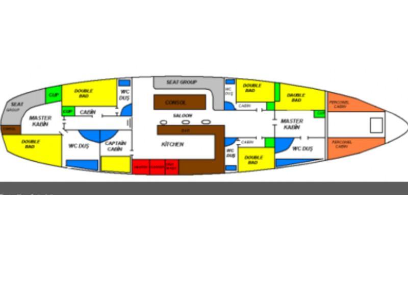 Gulet-Perrinita (Perrinita) Plan image - 6