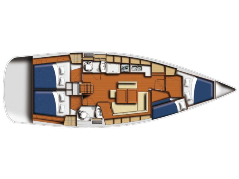 Oceanis 43 (FANTASEA) Plan image - 3