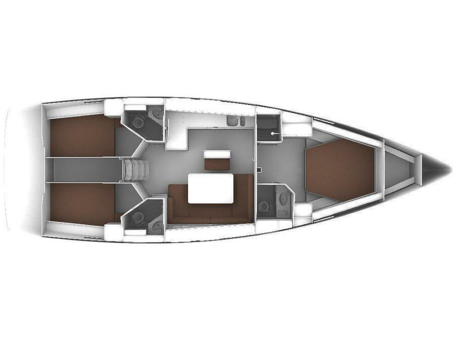 Bavaria Cruiser 46 Style (Grand Slam) Plan image - 13