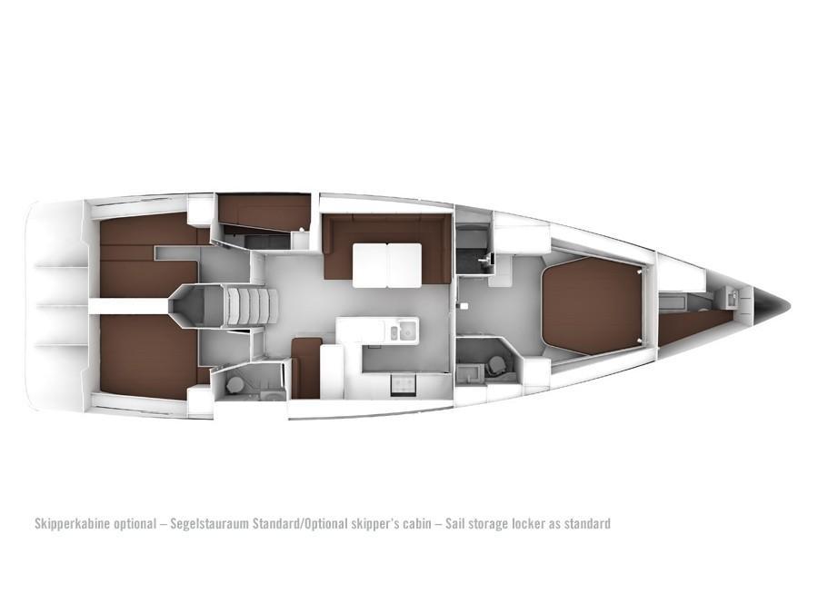 Bavaria 56 Cruiser (no name) Plan image - 2