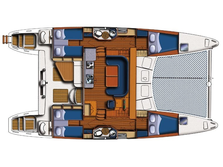 Catana 47 Carbon (Xenia II) Plan image - 14