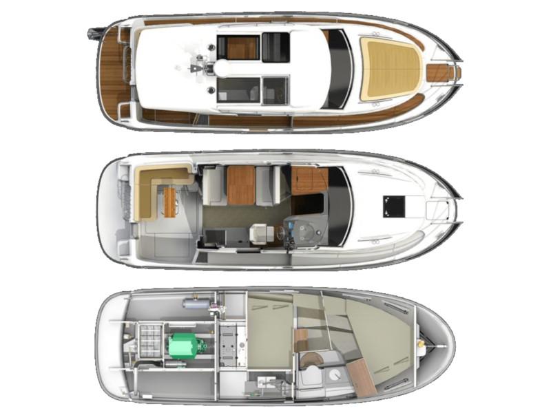 Nimbus 305 Coupe (Chocolate) Plan image - 3