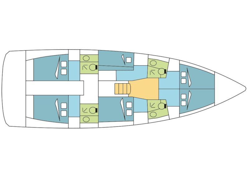 Sun Loft 47 (Cyclamen) Plan image - 2