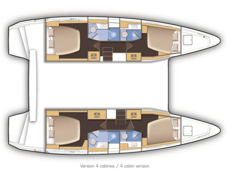 Lagoon 42 (KARMA) Plan image - 8