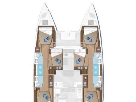 Lagoon 50 (C.EL) Plan image - 4