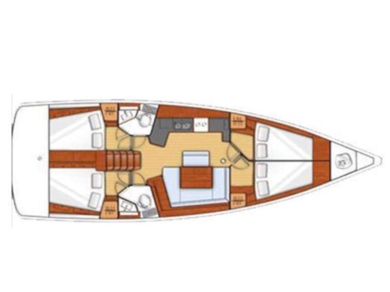 Oceanis 45 (Theagenis) Plan image - 7