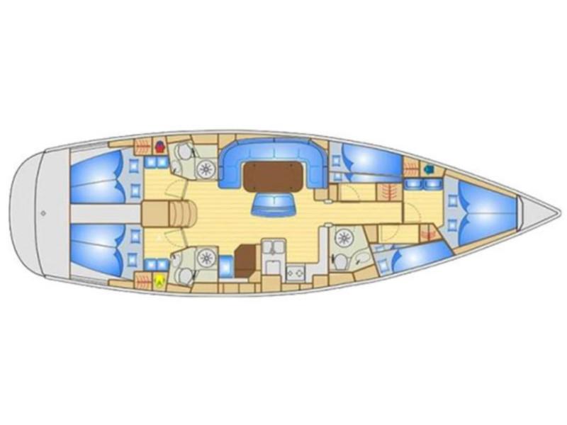 Bavaria 50 Cruiser (Giola) Plan image - 1