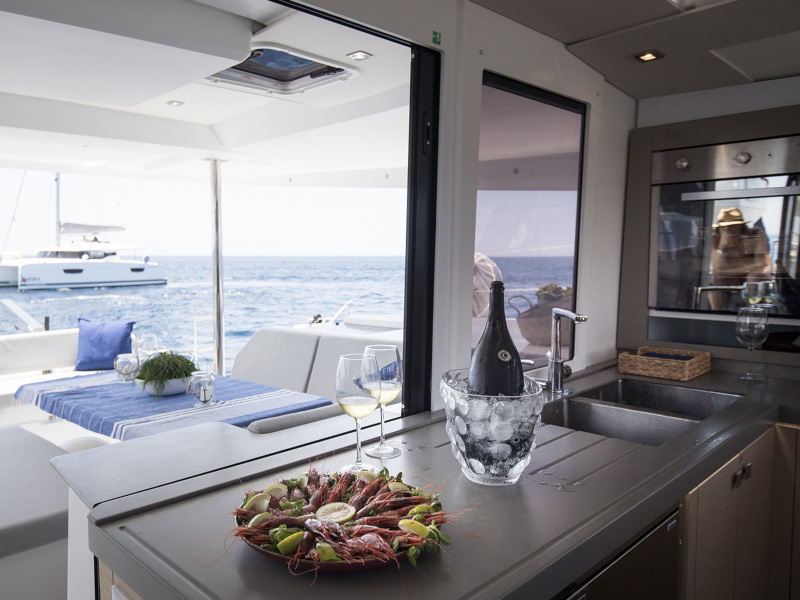 Saona 47 (Saona (Ac in all cabins+Watermaker+Bbq)) Interior image - 22